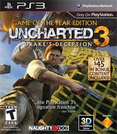 Uncharted 3 Drakes Deception Game Of Year Edition