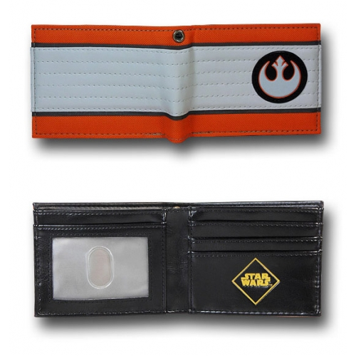 venta caliente online 45a9a 03d50 Billetera Star Wars Alliance Logo